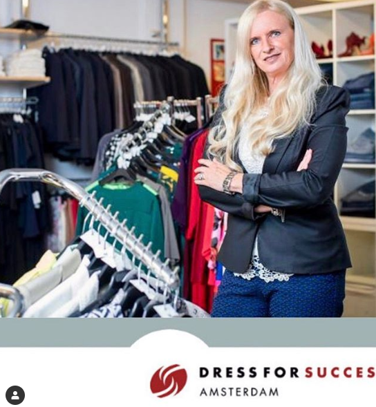 Donatie voor Dress For Success
